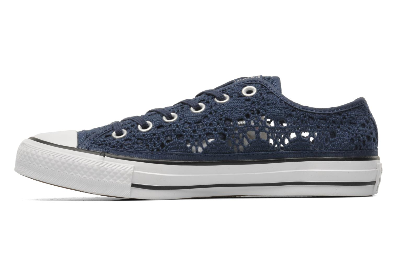 converse chuck taylor all star crochet ox w bleu baskets chez sarenza 212834. Black Bedroom Furniture Sets. Home Design Ideas