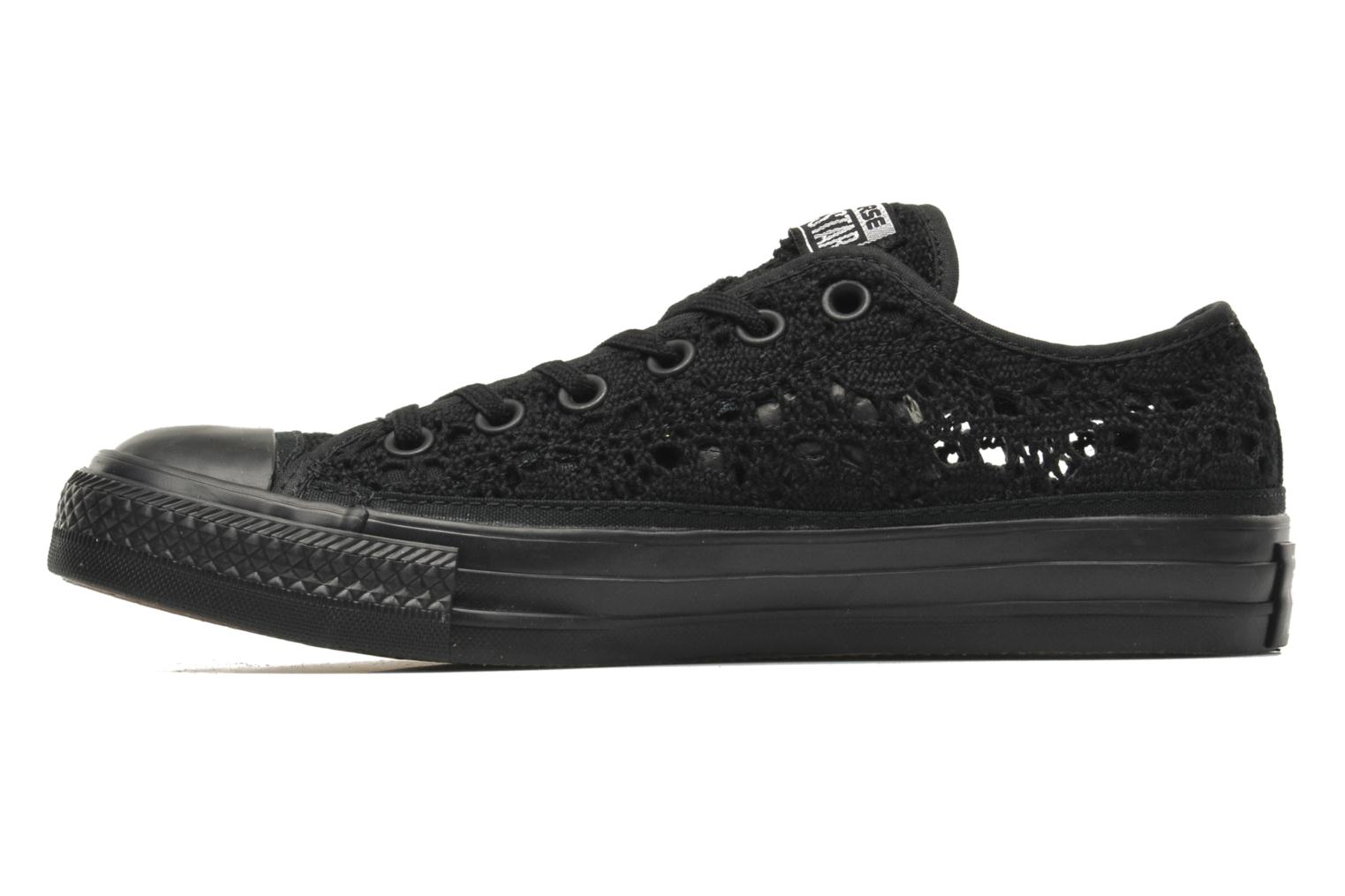 deportivas converse chuck taylor all star crochet ox w negro 212835. Black Bedroom Furniture Sets. Home Design Ideas