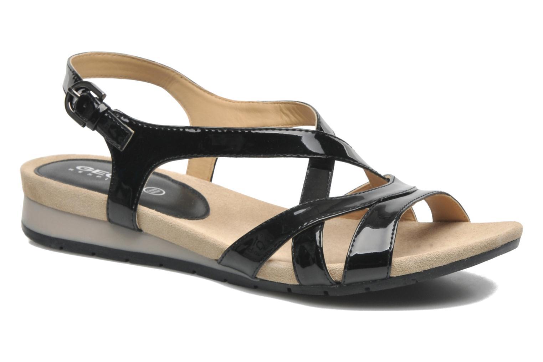 geox d formosa b d5293b noir sandales et nu pieds chez sarenza 219965. Black Bedroom Furniture Sets. Home Design Ideas
