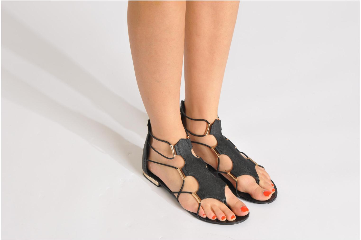 08d828dc076 Black Sandals  Aldo Zeanna