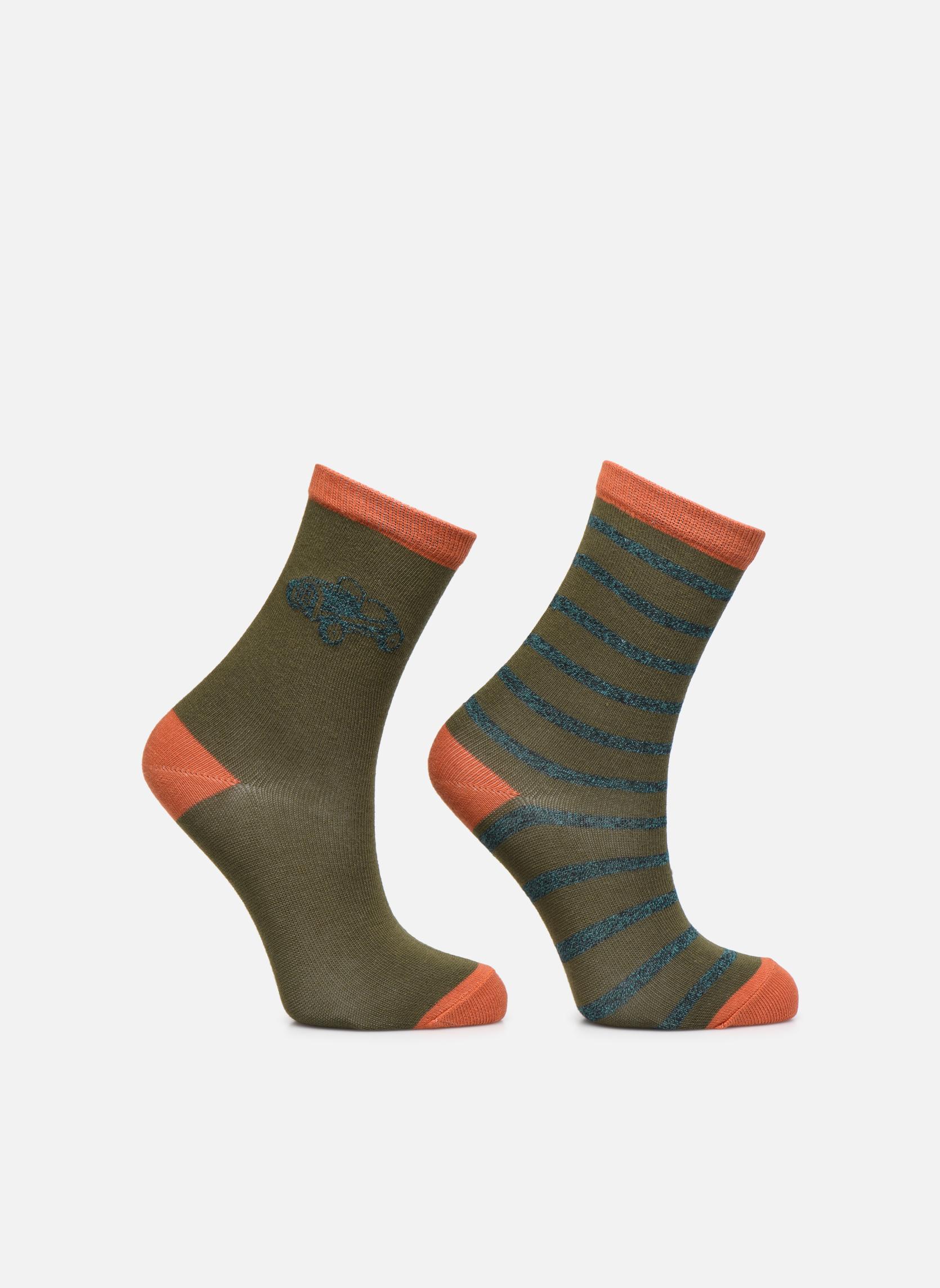 Sarenza Wear Lot de 2 paires chaussettes Fantaisie