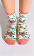 Hop Socks Chaussettes Flower Party