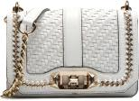 Rebecca Minkoff Woven chain Mini Love Crossbody