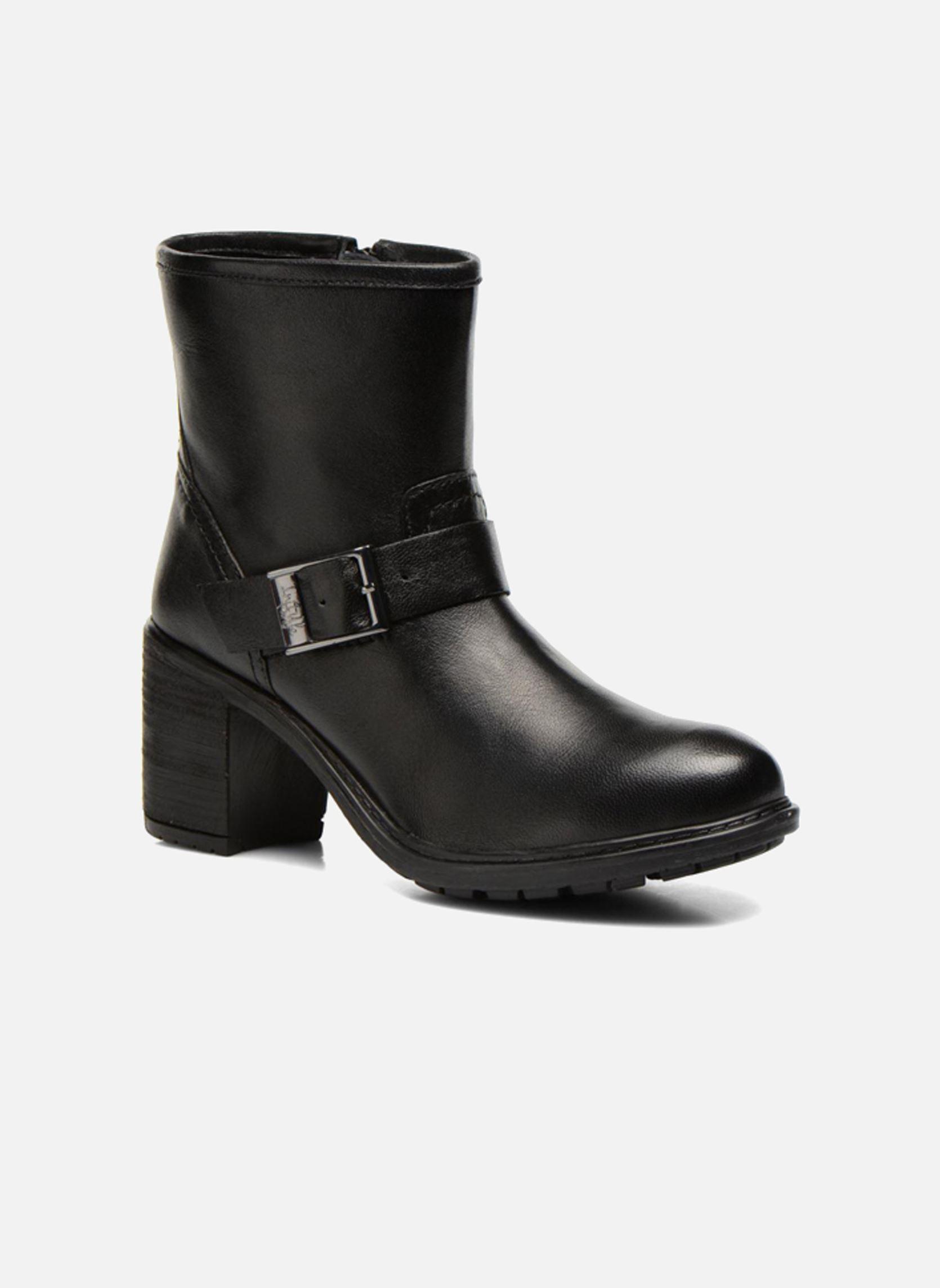 initiale paris carnaby noir bottines et boots chez sarenza 242623. Black Bedroom Furniture Sets. Home Design Ideas