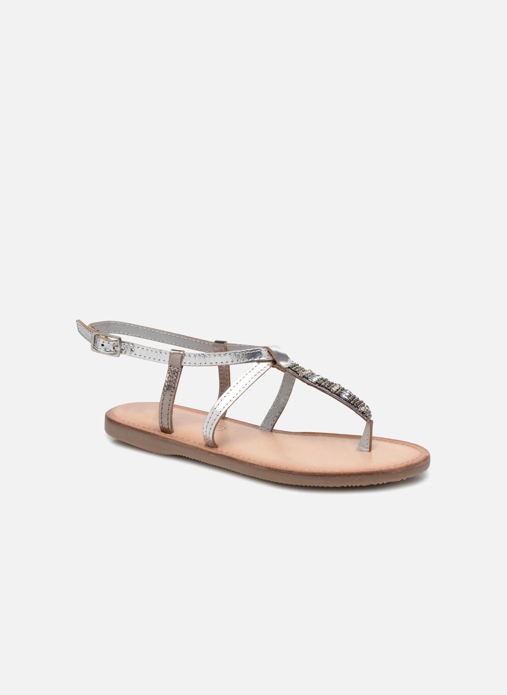 initiale paris miro argent sandales et nu pieds chez sarenza 242640. Black Bedroom Furniture Sets. Home Design Ideas
