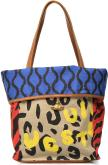 Vivienne Westwood AFRICA PROJECT Fold shopper Leopar/Tiger