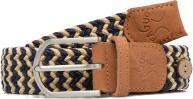 Faguo Belt tressée bicolore