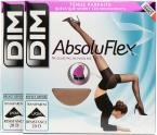 Dim Collant ABSOLU FLEX TRANSPARENT Pack de 2