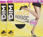 Dim Collant Beauty Resiist transparant Pack de 2