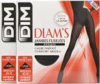 Dim Collant Diams Jambes fuselées opaque satiné Pack de 2