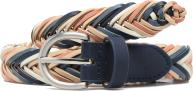 Pieces Lion Braided Jeans Belt