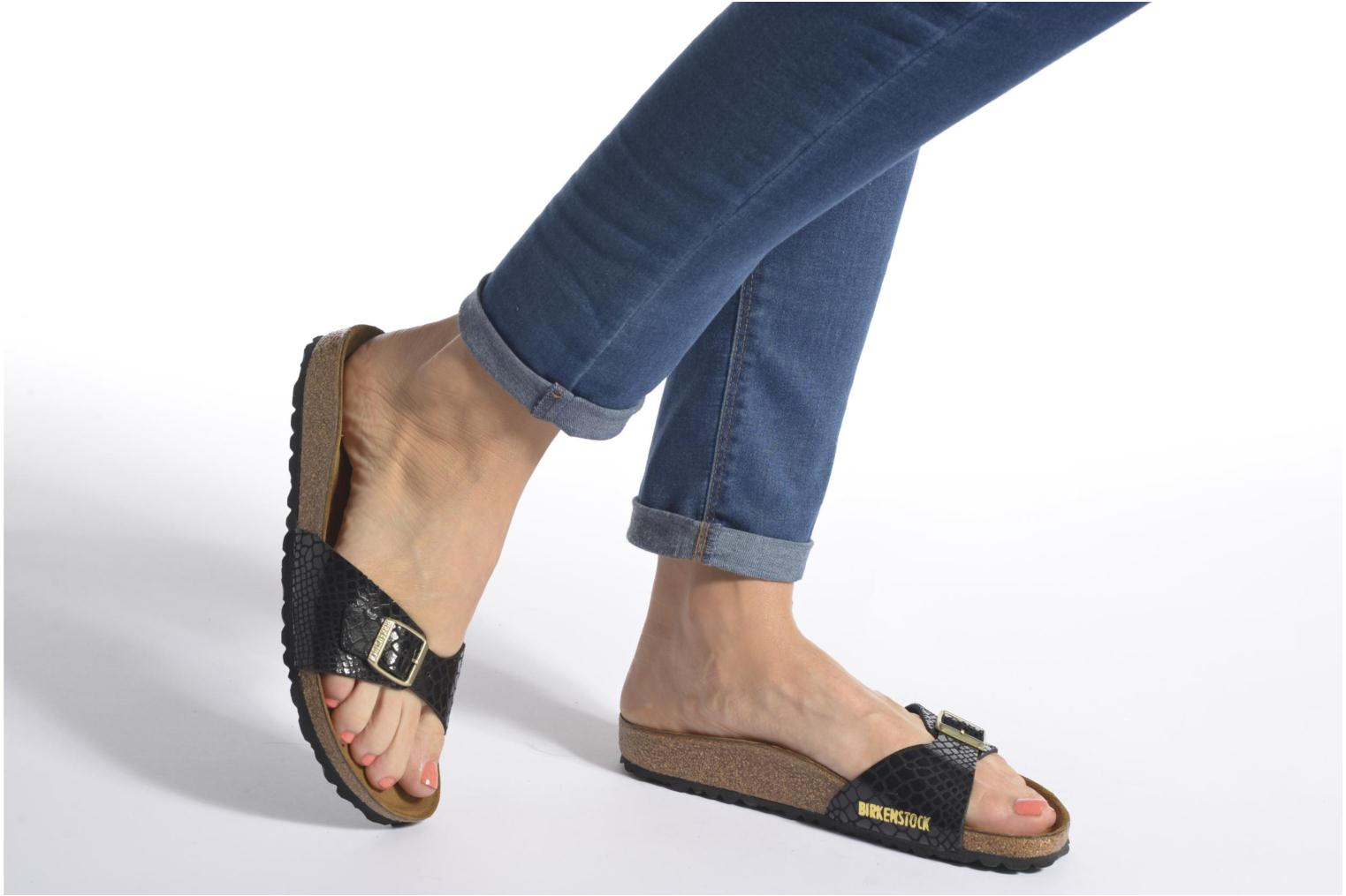 Mules & clogs Birkenstock Madrid Black view from underneath / model view