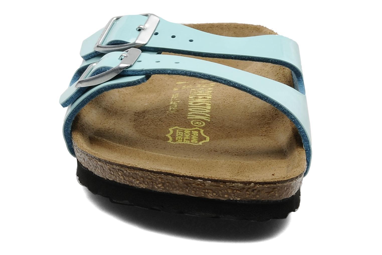 Mules et sabots Birkenstock Ibiza Flor Bleu vue portées chaussures