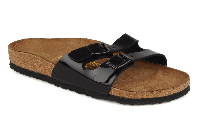 Zapatos especiales para hombres mujeres y mujeres hombres Birkenstock IbizaFlor (Negro) - Zuecos en Más cómodo 790bc6