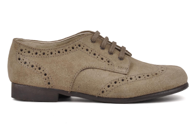 Chaussures à lacets Start Rite Charles Beige vue derrière