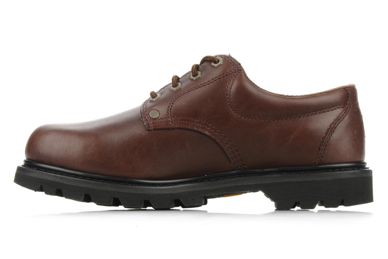 Chaussures à lacets Caterpillar Falmouth Marron vue face