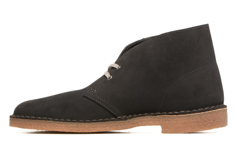 Boots en enkellaarsjes Clarks Desert Boot Grijs voorkant