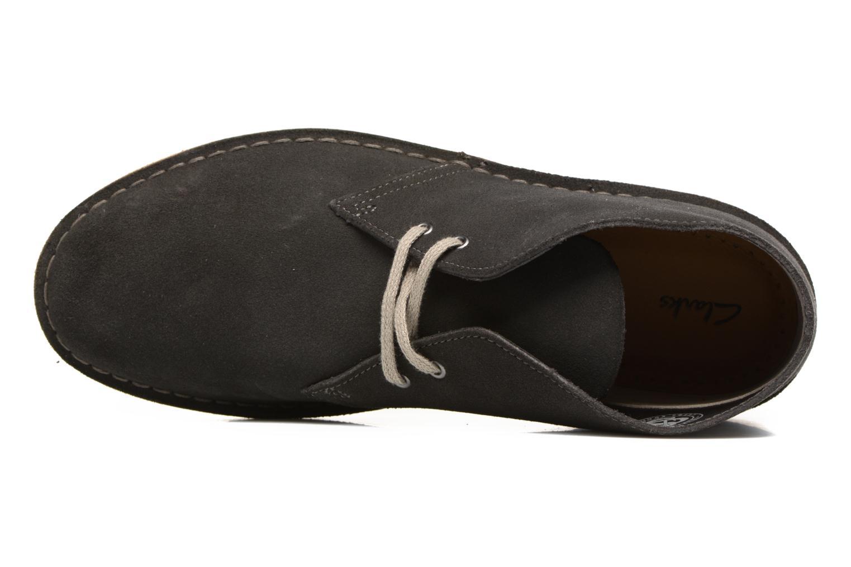 Boots en enkellaarsjes Clarks Desert Boot Grijs links