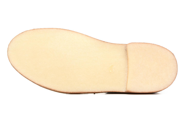 Stivaletti e tronchetti Clarks Desert Boot Grigio immagine dall'alto