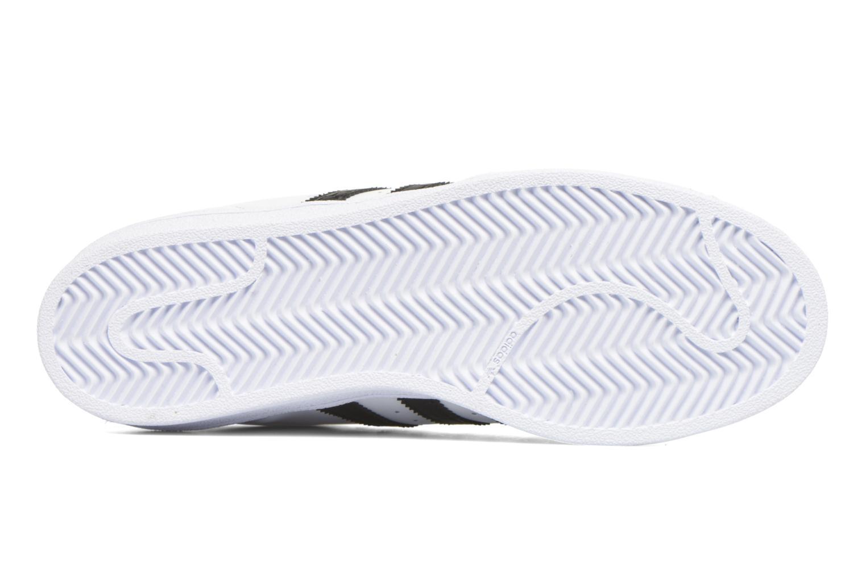 Sneaker Adidas Originals Superstar weiß ansicht von oben