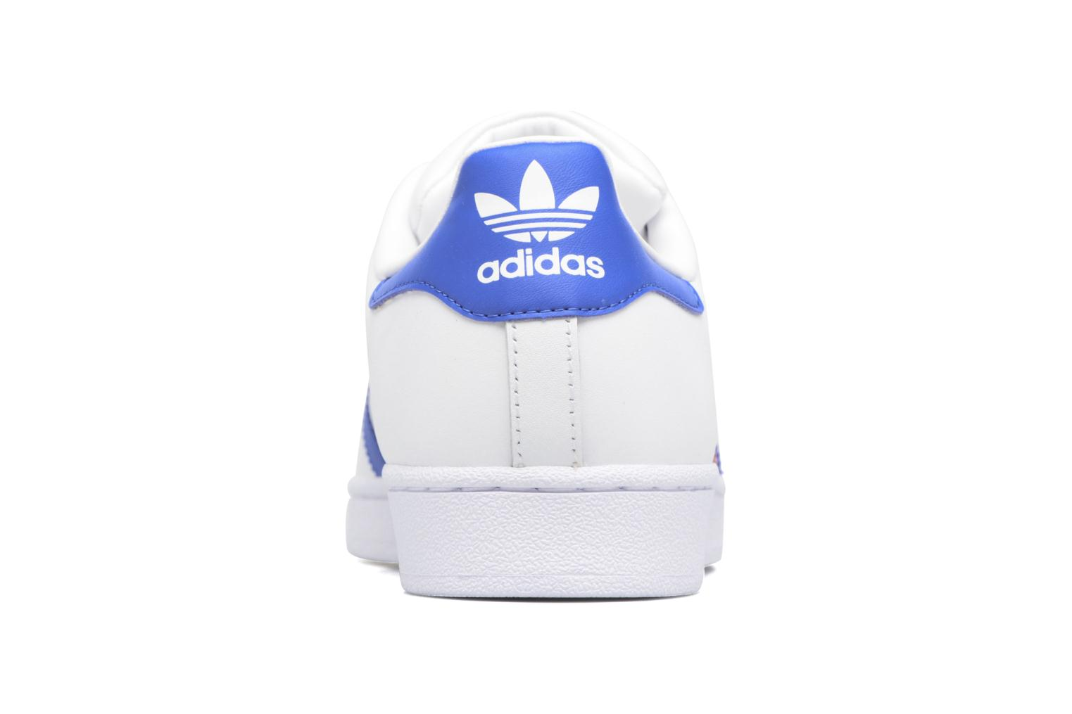 Trainers Adidas Originals Superstar White view from the right