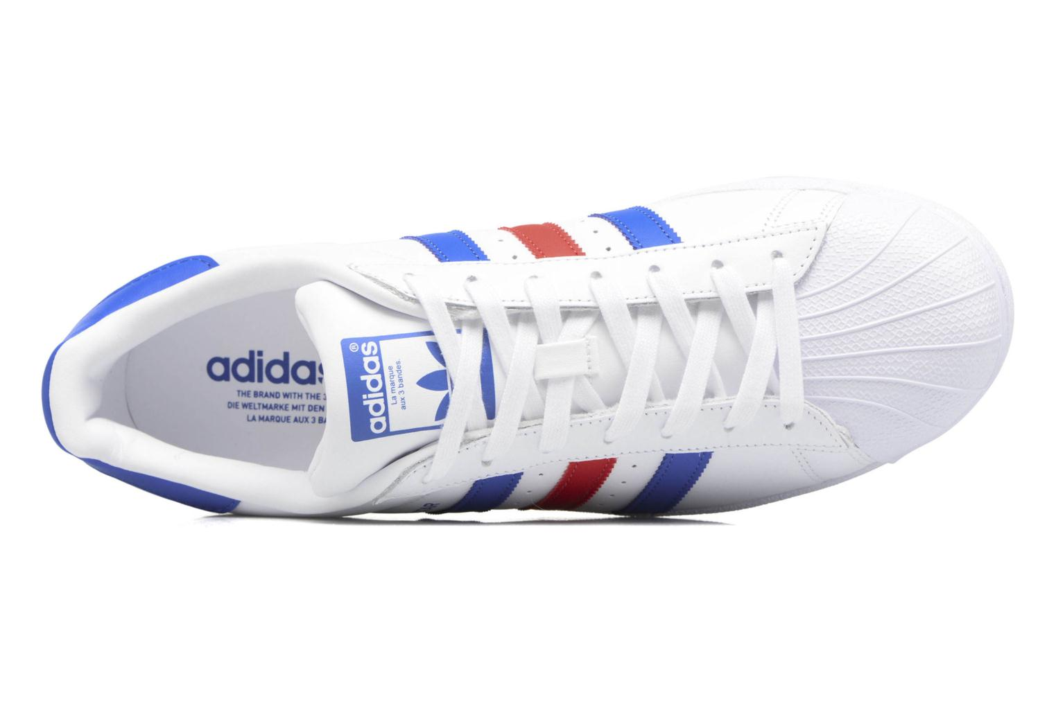 Trainers Adidas Originals Superstar White view from the left