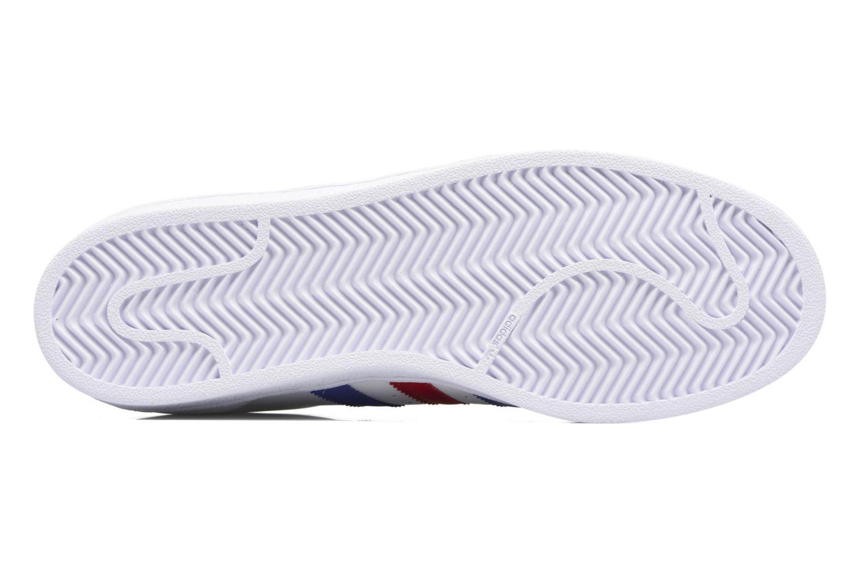 Deportivas Adidas Originals Superstar Blanco vista de arriba