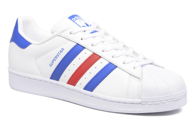 Trainers Adidas Originals Superstar White detailed view/ Pair view
