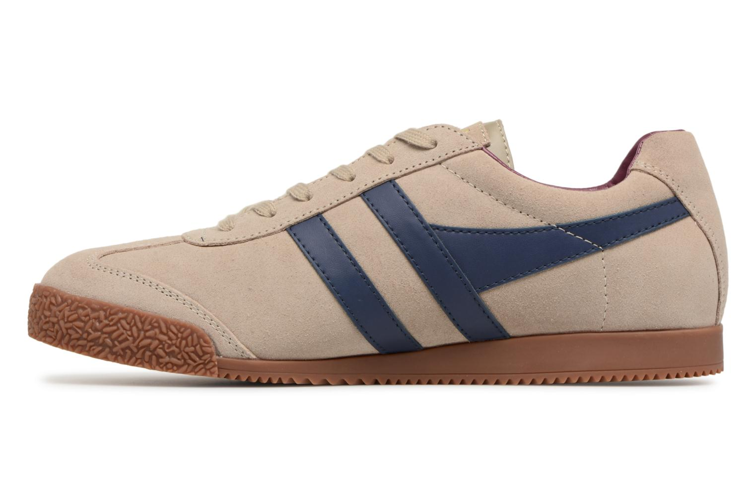 Trainers Gola Harrier Grey front view