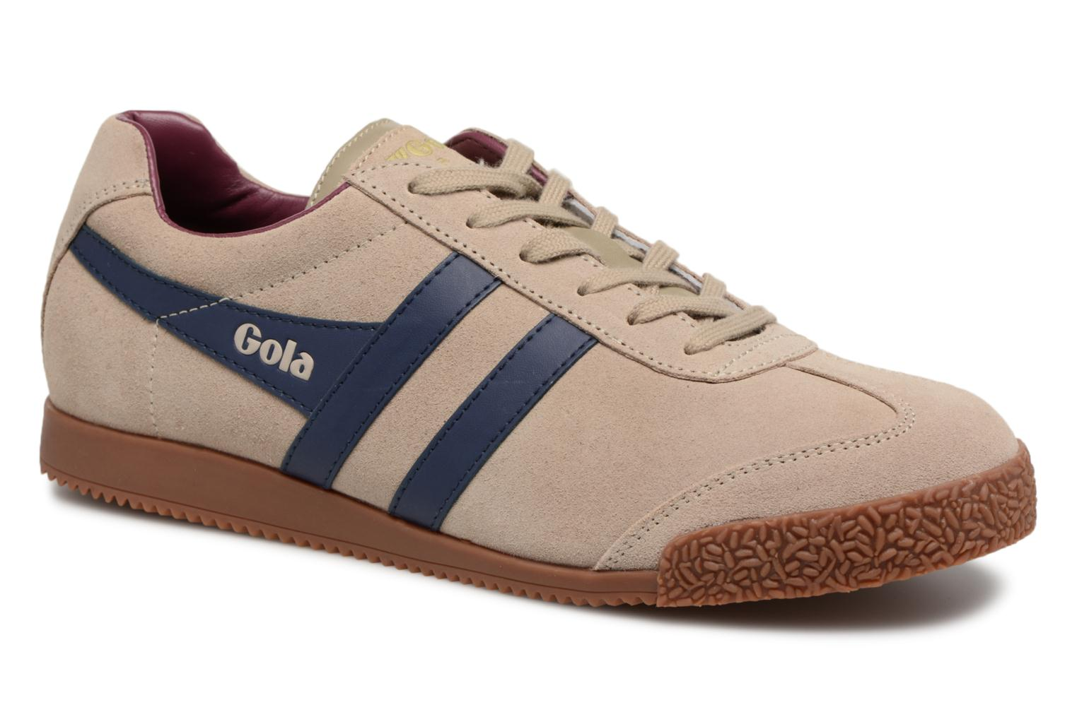 Trainers Gola Harrier Grey detailed view/ Pair view