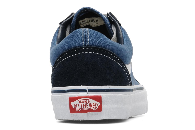 Sneakers Vans Old Skool W Blauw rechts