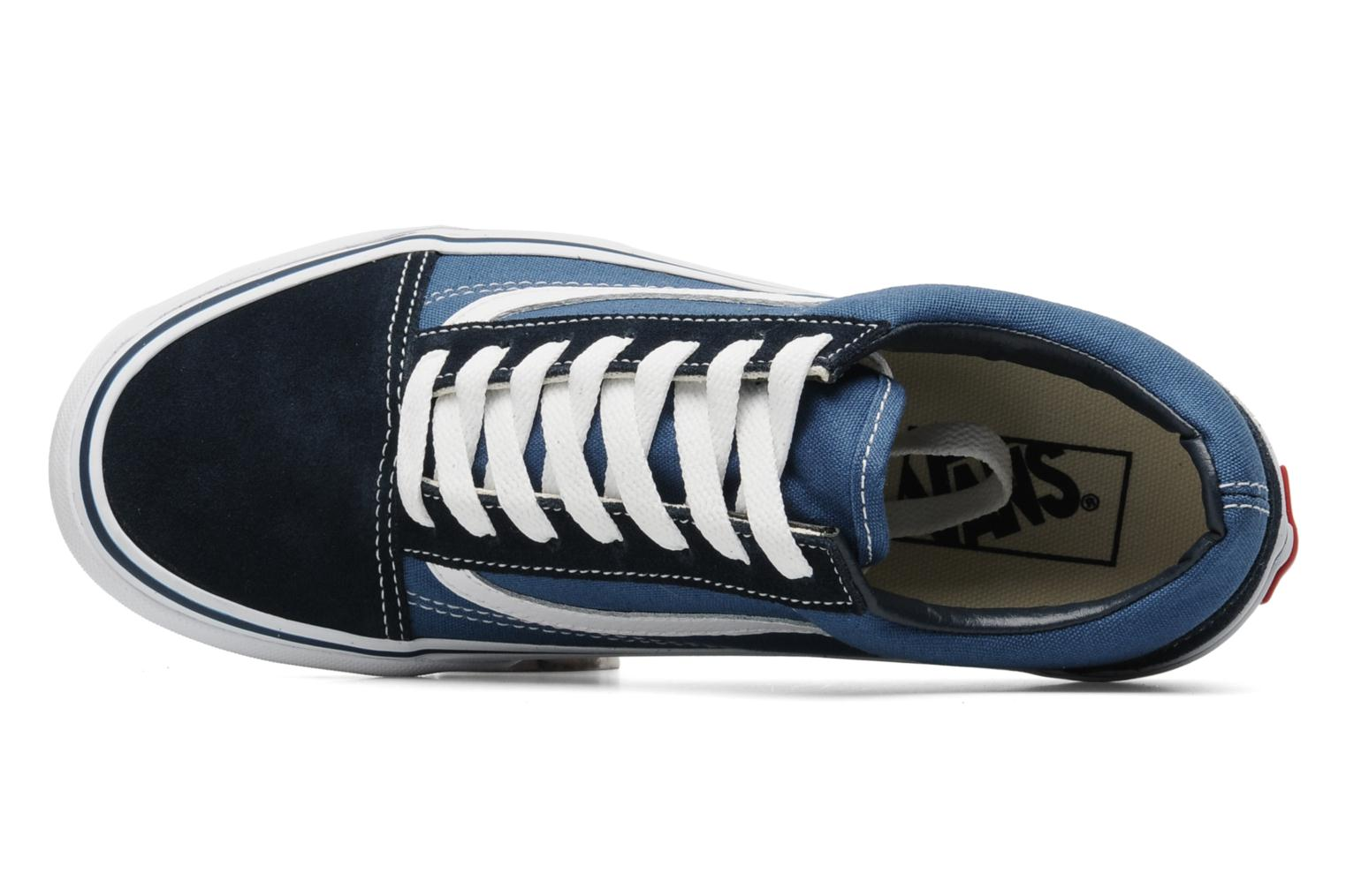 Sneaker Vans Old Skool W blau ansicht von links