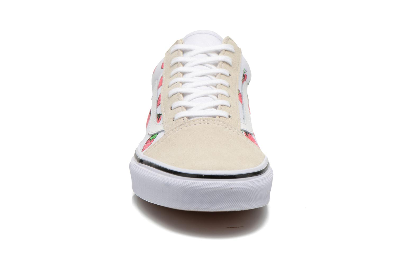 Sneakers Vans Old Skool W Multicolore modello indossato