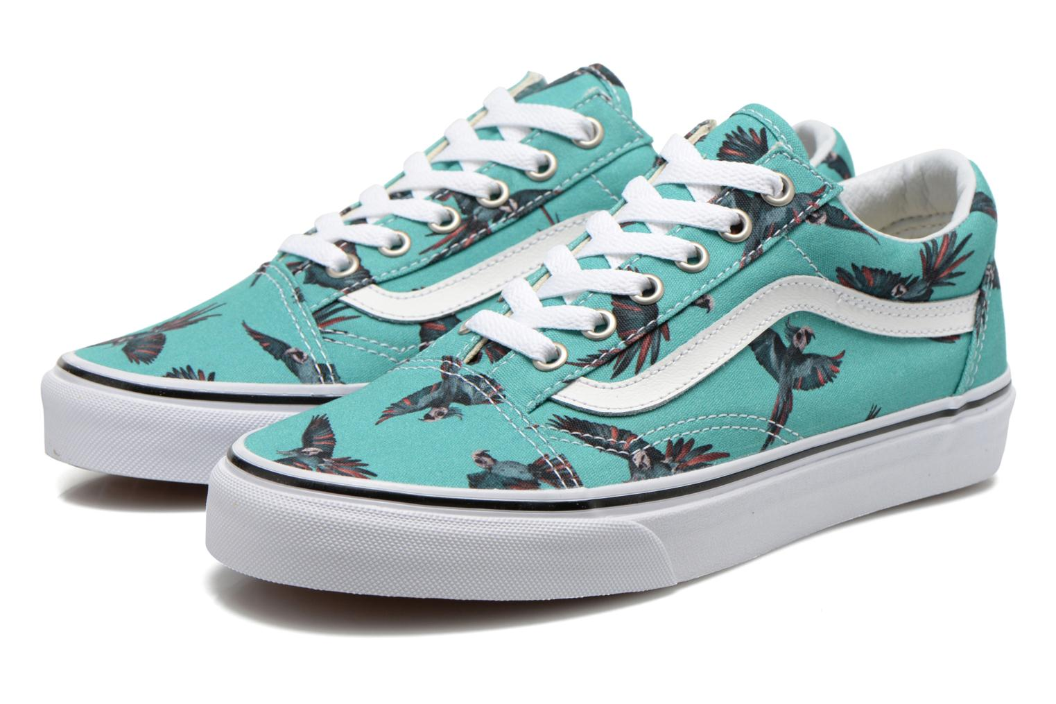 Old Skool W (Dirty Bird) turquoise/true white