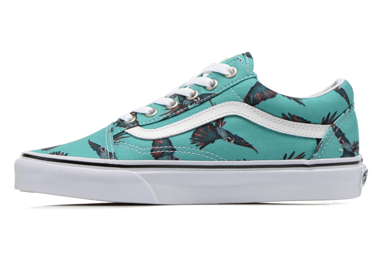 Sneaker Vans Old Skool W grün ansicht von vorne