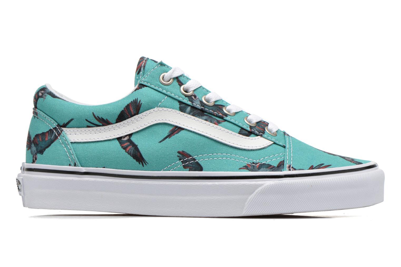 Sneaker Vans Old Skool W grün ansicht von hinten