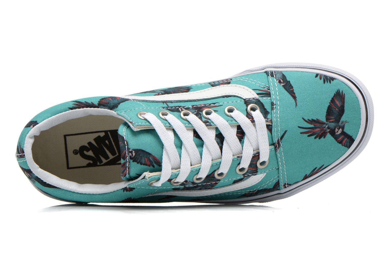 Sneaker Vans Old Skool W grün ansicht von links
