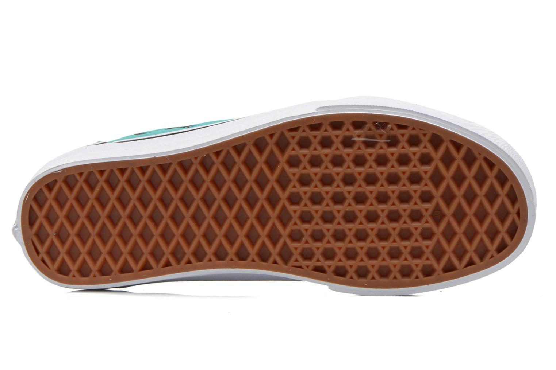 Sneakers Vans Old Skool W Verde immagine dall'alto