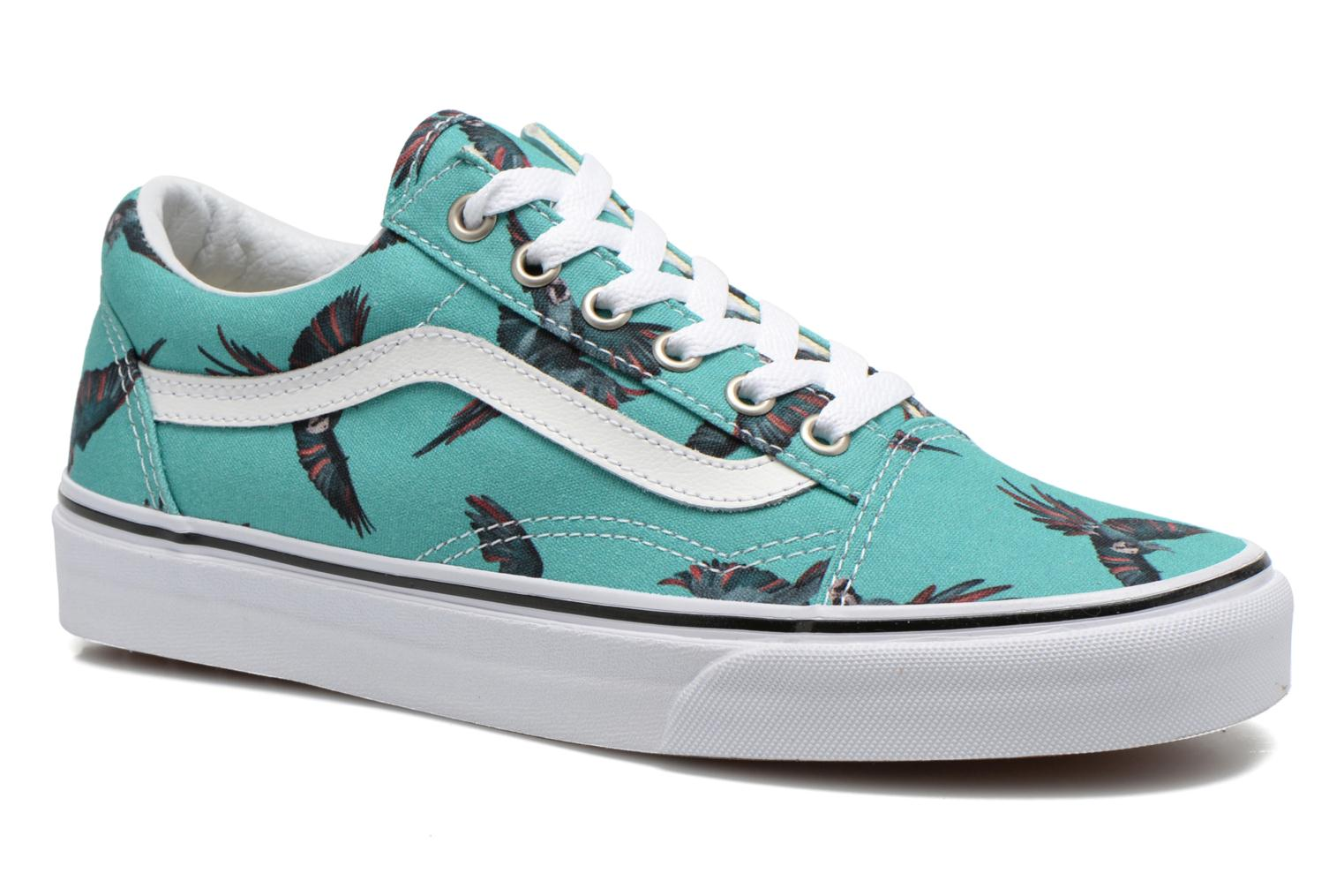 Sneakers Vans Old Skool W Groen detail