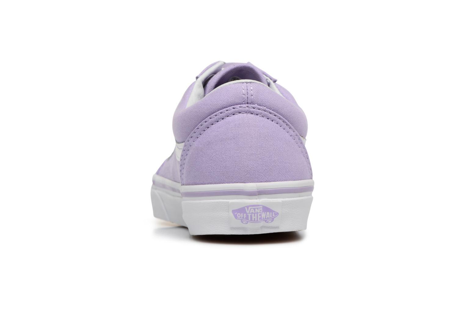Trainers Vans Old Skool W Purple view from the right