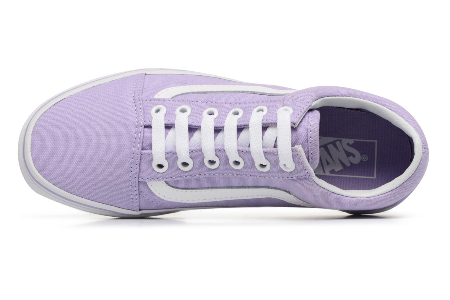 Trainers Vans Old Skool W Purple view from the left