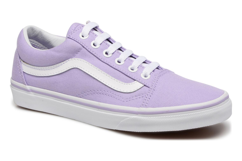 Sneakers Vans Old Skool W Lilla detaljeret billede af skoene