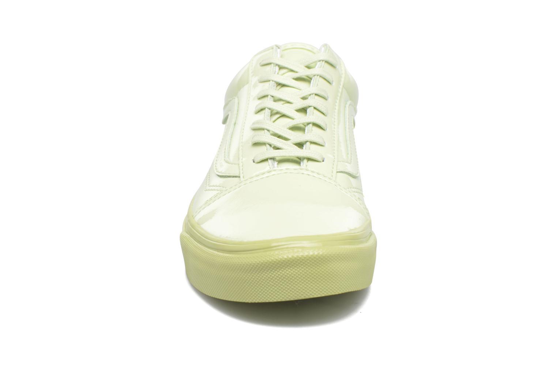 Baskets Vans Old Skool W Vert vue portées chaussures