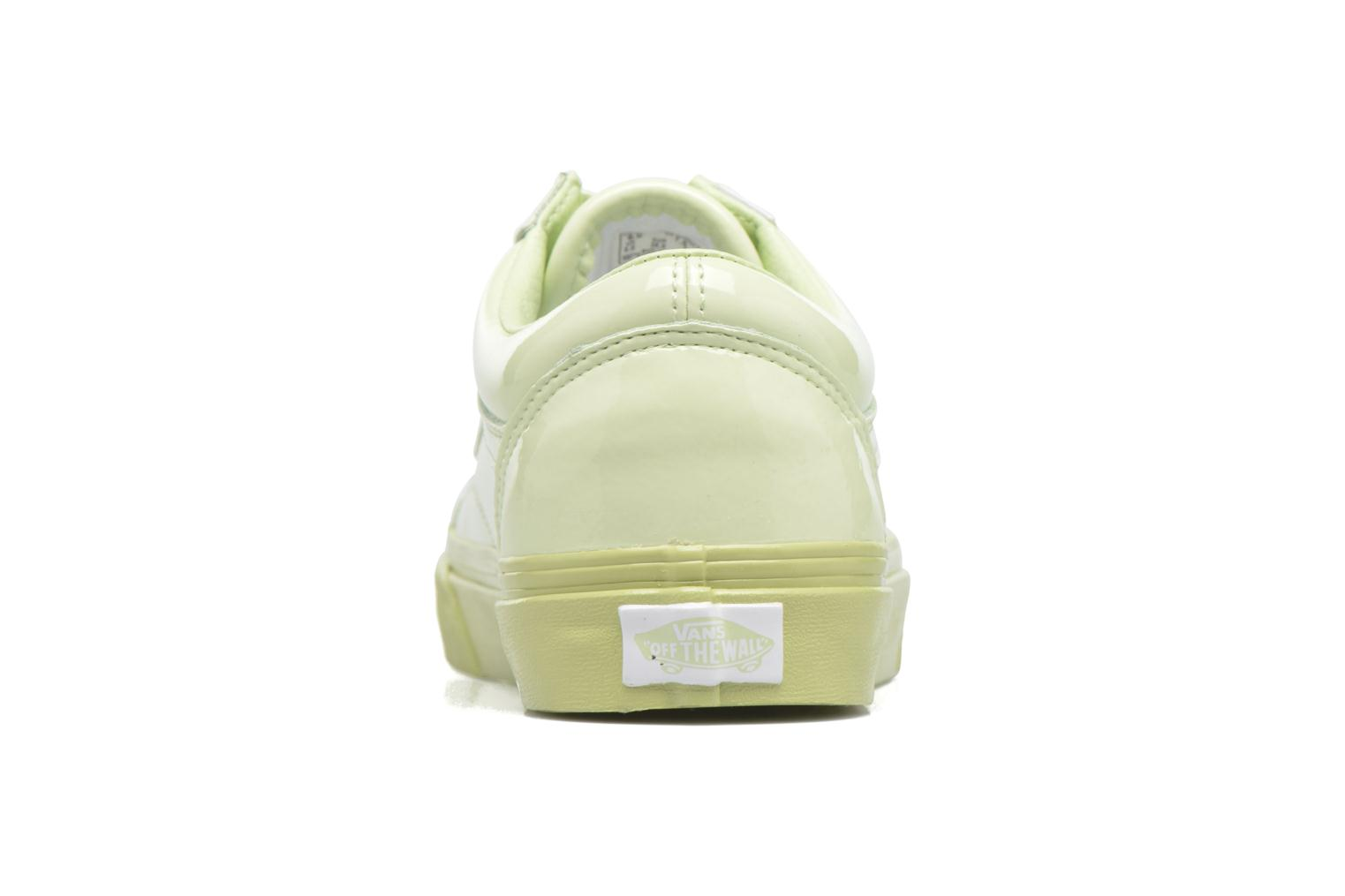 Old Skool W Patent Leather/Seafoam Green