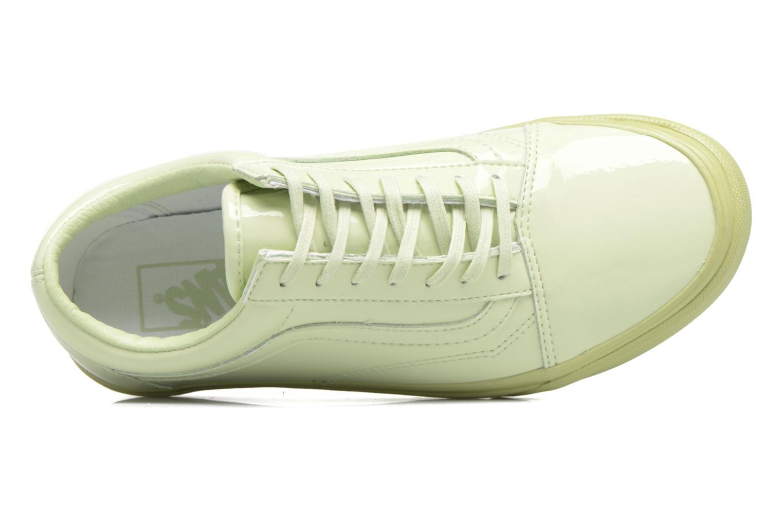Old Skool W Patent Leather/Seafoam Green