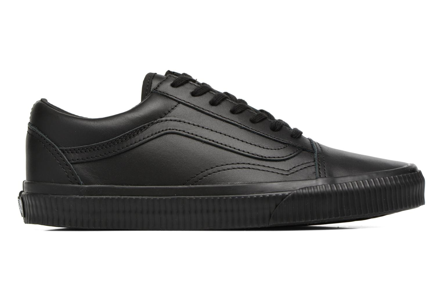 Sneakers Vans Old Skool W Sort se bagfra