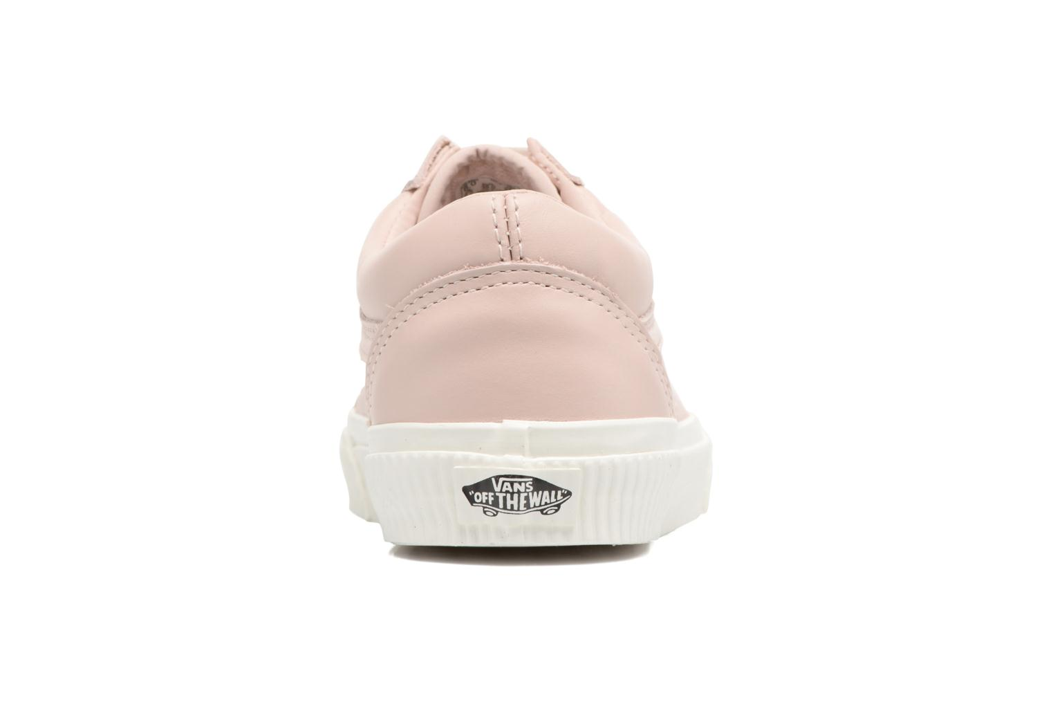 Trainers Vans Old Skool W Pink view from the right