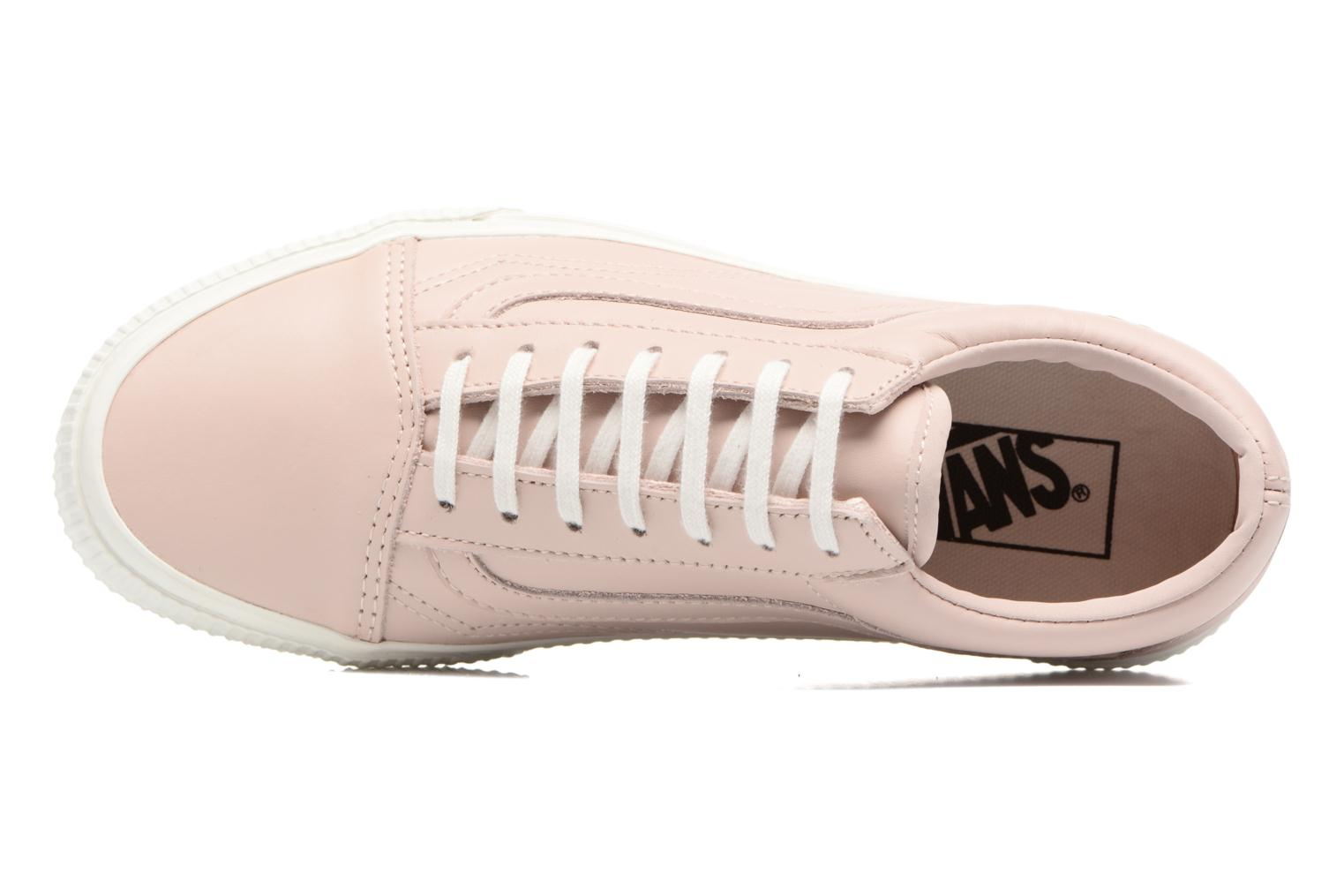 Trainers Vans Old Skool W Pink view from the left