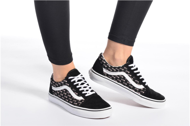 Sneakers Vans Old Skool W Nero immagine dal basso