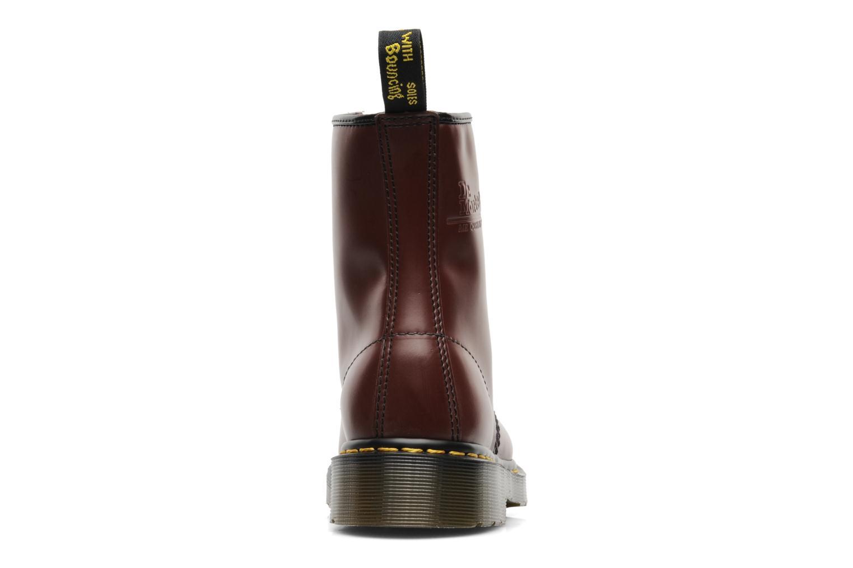 Bottines et boots Dr. Martens 1460 Smooth Rouge vue droite